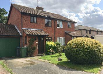 Thumbnail 3 bed semi-detached house for sale in Surrey Close, Framlingham, Woodbridge