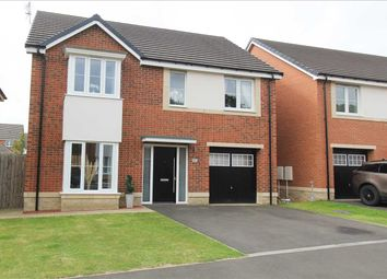 Thumbnail 4 bed detached house for sale in Strother Way, Bassington Manor, Cramlington