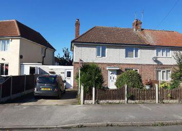Thumbnail 2 bedroom semi-detached house for sale in Cross Street, Langold, Worksop