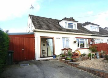 Thumbnail 2 bed semi-detached bungalow for sale in Maesyderi, Llechryd, Cardigan