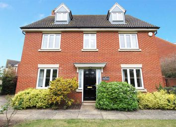Thumbnail 5 bed detached house for sale in Ropes Drive, Kesgrave, Ipswich