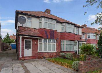 Thumbnail 3 bedroom semi-detached house for sale in Cleveland Gardens, Golders Green Estate