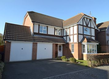 Thumbnail 4 bed detached house for sale in Lodge Field Road, Chestfield, Whitstable