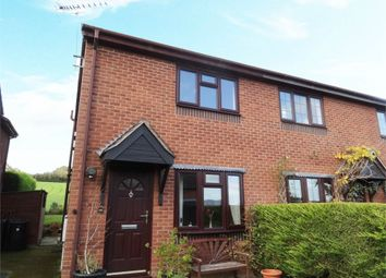 Thumbnail 2 bed semi-detached house for sale in The Hawthorns, Brockton, Worthen, Shrewsbury, Shropshire