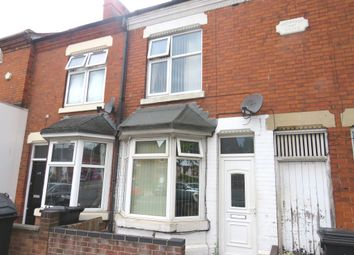 Thumbnail 2 bedroom terraced house for sale in Saffron Lane, Leicester