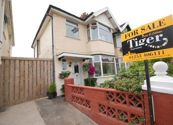 Thumbnail 3 bed semi-detached house for sale in Riversleigh Avenue, Blackpool, Lancashire