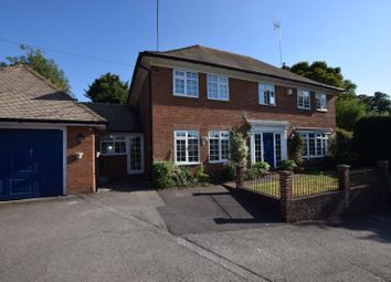 Thumbnail 4 bed detached house for sale in Overlooking Water Meadows - Basingstoke Road, Alton, Hampshire