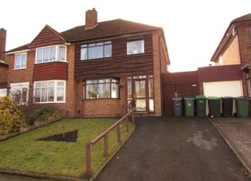 Thumbnail 3 bed semi-detached house for sale in Hillbank, Tividale