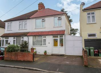 Thumbnail 4 bed semi-detached house for sale in The Drive, Erith