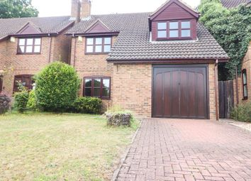 Thumbnail 4 bed detached house to rent in Cannon Close, College Town, Sandhurst