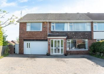 Thumbnail 4 bed semi-detached house for sale in Caynham Close, North Shields