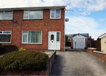 Thumbnail 3 bed semi-detached house for sale in Menai Way, Wrexham