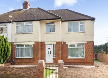 Thumbnail 4 bed semi-detached house for sale in King George V Drive East, Heath, Cardiff