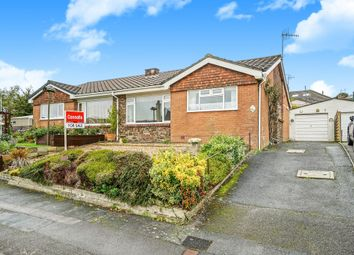 Thumbnail 2 bed semi-detached bungalow for sale in Foxwood Gardens, Plymstock, Plymouth