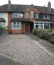 Thumbnail 4 bedroom terraced house to rent in Tealby Grove, Selly Park, Birmingham