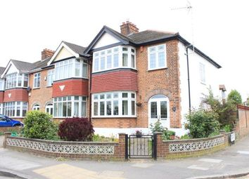 Thumbnail 3 bed end terrace house for sale in Longwood Gardens, Ilford