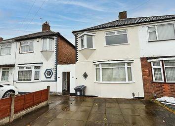 Thumbnail 3 bed semi-detached house for sale in Delhurst Road, Great Barr, Birmingham