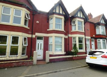 Thumbnail 3 bed terraced house for sale in Downham Road, Tranmere, Birkenhead