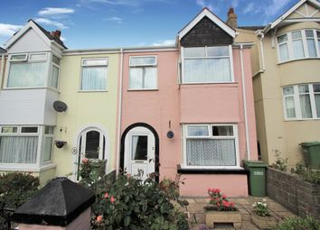 Thumbnail 3 bed end terrace house for sale in Enfield Road, Torquay