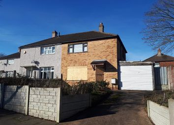 Thumbnail 2 bed semi-detached house for sale in Burrington Road, Quinton, Birmingham