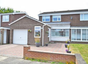 Thumbnail 3 bed semi-detached house for sale in Moffat Close, North Shields