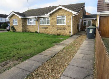 Thumbnail 2 bed semi-detached bungalow for sale in Harlestone Close, Luton