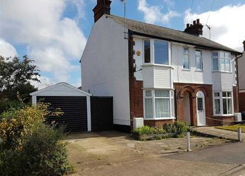 Thumbnail 4 bedroom semi-detached house for sale in Exeter Road, Ipswich