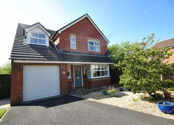Thumbnail 4 bedroom detached house for sale in Aiden Avenue, Barnstaple, Devon