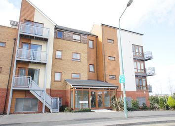 Thumbnail 2 bed flat to rent in Evelyn Walk, Greenhithe, Kent