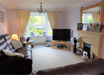 Thumbnail 4 bed detached house for sale in Teasel Way, Worcester