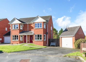 Thumbnail 3 bed semi-detached house for sale in Ithon View, Tremont Park, Crossgates, Llandrindod Wells