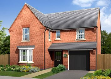 "Thumbnail 4 bedroom detached house for sale in ""Exeter"" at Morganstown, Cardiff"