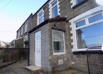 Thumbnail 3 bed terraced house to rent in Rhiw Parc Road, Abertillery