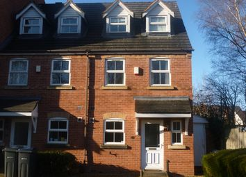 Thumbnail 3 bed flat to rent in Brookvale Mews, Selly Park
