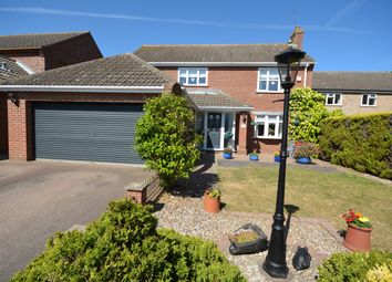 Thumbnail 4 bed detached house for sale in The Parklands, Carlton Colville, Suffolk