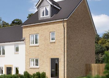 "Thumbnail 4 bed end terrace house for sale in ""The Weybridge"" at Blantyre, Glasgow"