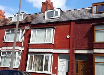 Thumbnail 4 bed terraced house to rent in Poulton Road, Wallasey