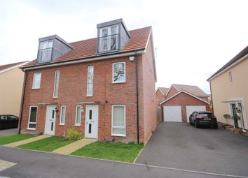 Thumbnail 3 bedroom semi-detached house to rent in Mills Chase, Bracknell