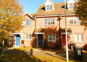 Thumbnail 3 bed terraced house to rent in Goodman Road, Bedford, Beds