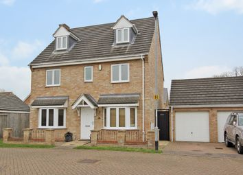 Thumbnail 5 bed detached house for sale in Collingwood Drive, Longstanton, Cambridge
