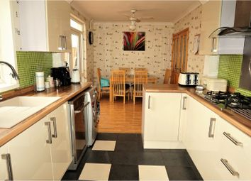 Thumbnail 3 bedroom semi-detached house for sale in Glazebrook Road, Leicester