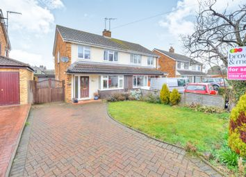 Thumbnail 3 bed semi-detached house for sale in Walnut Close, Newport Pagnell