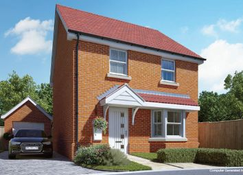 Thumbnail 3 bed detached house for sale in London Road, Attleborough, Norfolk