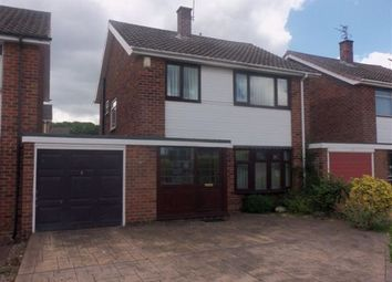 Thumbnail 3 bed detached house to rent in Appledore Avenue, Wollaton