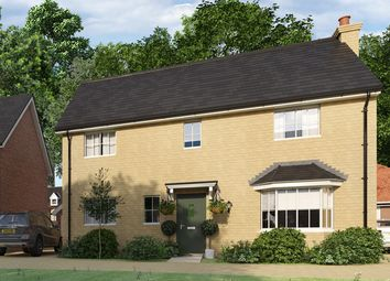 "Thumbnail 4 bed property for sale in ""The Danbury"" at Yarrow Walk, Red Lodge, Bury St. Edmunds"