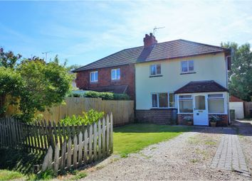 Thumbnail 3 bed semi-detached house for sale in Trampers Lane, North Boarhunt