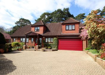 Thumbnail 4 bed detached house for sale in Fernleigh Rise, Deepcut