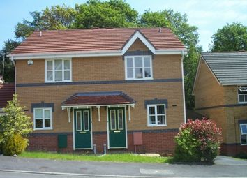 Thumbnail 2 bed semi-detached house to rent in Byron Way, Killay, Swansea