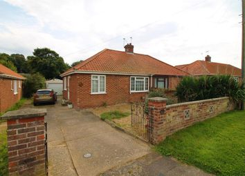 Thumbnail 2 bedroom semi-detached bungalow for sale in Oval Road, Norwich