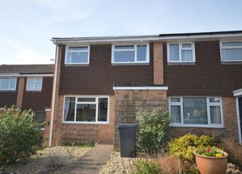 Thumbnail 3 bed terraced house to rent in Cheshire Road, Exmouth